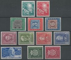 Federal Republic of Germany 1949/1950 - Selection of 1940s - 1950s - Michel 111/122
