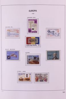 Europa Stamps 1982/1989