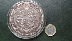 Spain - 50 euros, official mintage of the Cincuentín - Maximum number of 6,000 coins minted
