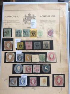 Old Germany 1851 / 1864 - Hannover collection