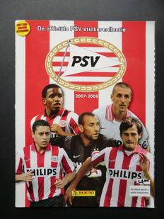 Panini - PSV 2007/2008 - Complete album - New condition.