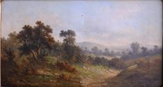 A. Stone - pseudonym of Alfred Steinacker (1838-1914) -Landscape