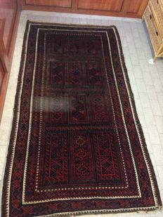 Antique Persian rug - 225 x 122 cm