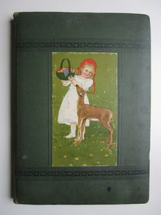 Scrapbooks; Original album with die cuts - 1930s