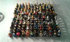 Assorted - 250 Lego mini figures