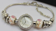Pierre Cardin - Ladies' watch with necklace and earrings gift set