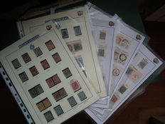 Kingdom of Italy, 1863-1879 – Collection of cancelled stamps