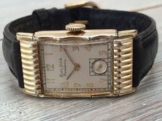 "Bulova ""Excellency"" Beautiful Mens watch Cal 7AA Art Déco style 1950"