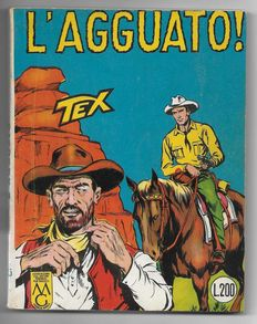 Tex, stapled giant album no. 25, original, 1st edition