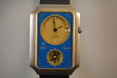 Dalil Supra with compass- vintage men,s/muslim watch from 1970,s in excellent condition