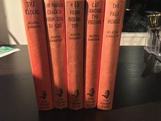 Agatha Christie - Lot of 5 first editions - 1957/1963
