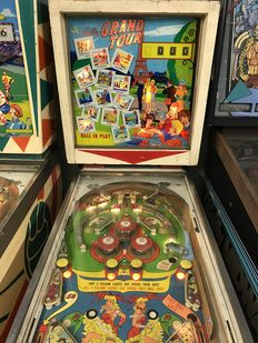 Bally Grand Tour Mechanical pinball machine
