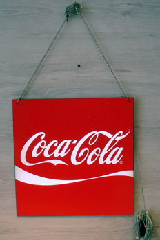 Coca Cola LED lighting double sided - early 2000