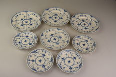 Royal Copenhagen - Eight plates/saucers