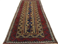 "Antique Beluch – 142 x 66 cm – ""Persian runner in beautiful, antique condition"" – Note! No reserve, starts at €1"