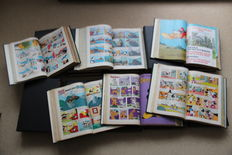 Donald Duck Weekblad - 10 years (without 2nd half of 1971) in 19 private bindings - hc (1970/1979)