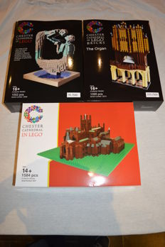 LEGO Certified Professional - Chester Cathedral + The Water of Life + The Organ