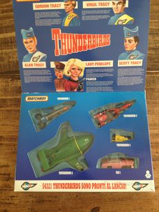 Thunderbirds Matchbox - Rescue pack-1993