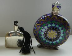 Sterling Silver perfume  - 2 pieces - English and North Africa.
