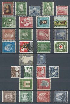 Federal Republic of Germany 1952/1953 - Selection 1950s - Michel 148/176