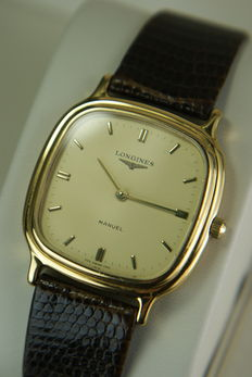 "Longines ""Manuel"" Mechanical men's swiss watch Cal. 395.2"