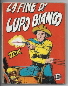 Tex, stapled giant album no. 19, original, 1st edition