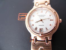 Krug Baumen Charleston diamond - men's wristwatch. Never worn.