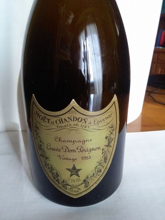 1983 Moet et Chandon Cuvèe Dom Perignon, France – 1 bottle