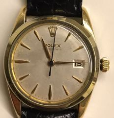 Rolex Oysterdate Precision wristwatch, Ref. 6694, men's, 1960.