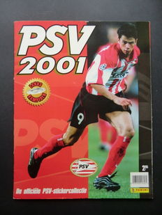Panini - PSV 2001 - Complete album - Including order form.