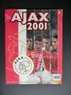 Panini - Ajax 2001 - Complete album - Including order form.