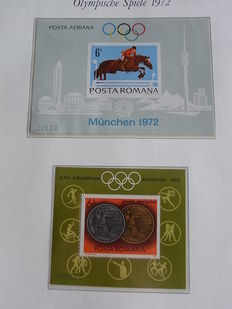 Olympics 1972 – Collection in Borek album