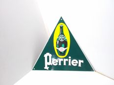 Perrier - enamel sign from France - 1990.