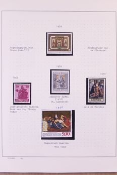 Religion 1955/1980 –  Topical collection in four Schaubek clip folders