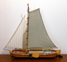 Frisian Tjalk model boat
