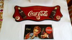 Lot of 2 Coca Cola products - 20th century