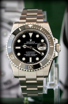 Rolex Submariner 116610LN still with protective film, like new