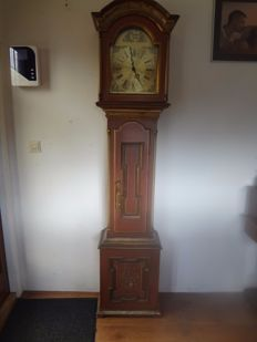Large grandfather clock in Scandinavian style – second half of 20th century.