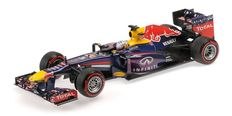 Minichamps - Schaal 1/18 - Infiniti Red Bull Racing RB9 S. Vettel Winner Brazilian GP 2013