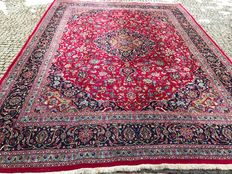 Beautiful & wonderful Persian Iran Kaschan handknotted 303x403cm end of 20th century