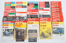 Magazines; Lot with more than 60 issues Auto-Visie, De Auto, Auto Revue, and De Kampioen - 1950s and 1960s