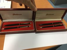 Two Pelikan Set - 80,s years - Ballpoint pen and pencil
