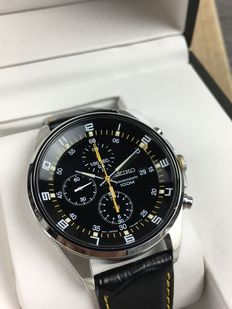 Seiko chronograph, reference: SNDC89P2 – men's watch