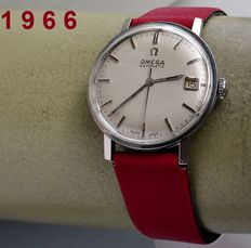 Omega - vintage  dresswatch -men's watch + guarantee - 1966