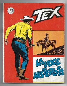Tex, giant album no. 45, original, 1st edition - (1964)