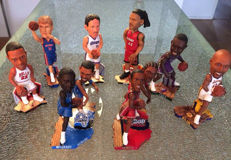 8 limited edition Forever Collectibles, NBA Legends of the Court.