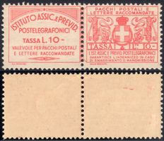 Kingdom of Italy - 1926/1936 - Insurance stamps