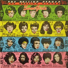 The Rolling Stones - A Lot of 9 LP records including two double albums