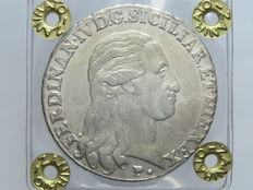 Kingdom of the Two Sicilies - 1798 - Piastra of 120 Grana - Ferdinand IV - Silver