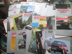 Car brochures (Mitsubishi, 34x, 1977-2002)